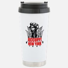 Occupy New York Travel Mug
