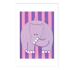 Hercules Hippo Postcards (Package of 8)