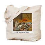 MAMA CAT & PUPPY Tote Bag