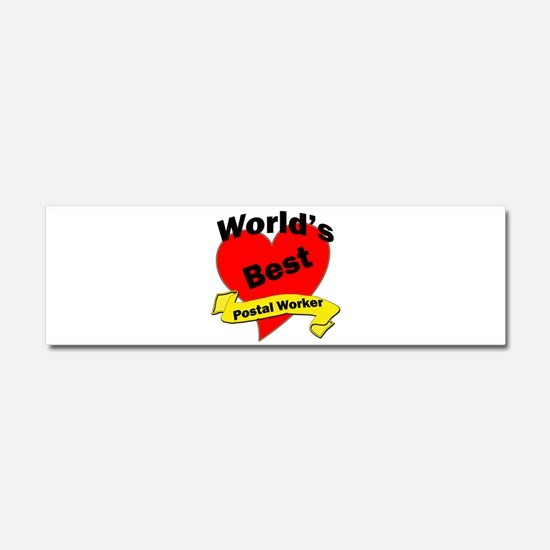 Funny Office workers Car Magnet 10 x 3