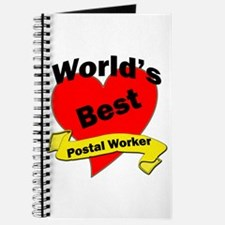 Funny Post office worker Journal