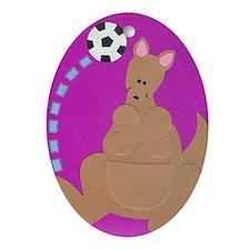 Kelly Kangaroo Ornament (Oval)
