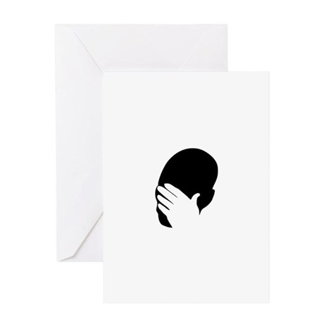 Facepalm Greeting Card