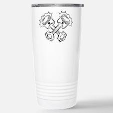 Pistons Stainless Steel Travel Mug