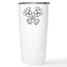 Pistons Travel Coffee Mug