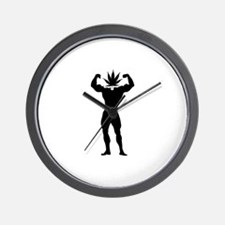 Pothead Maximus Wall Clock