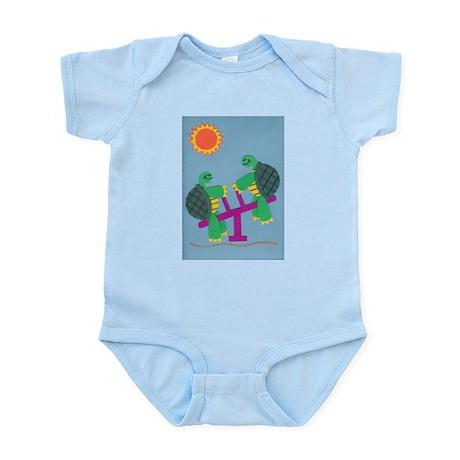 Twin Turtles Infant Bodysuit