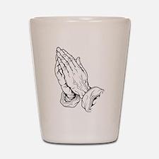 Praying Hands Shot Glass