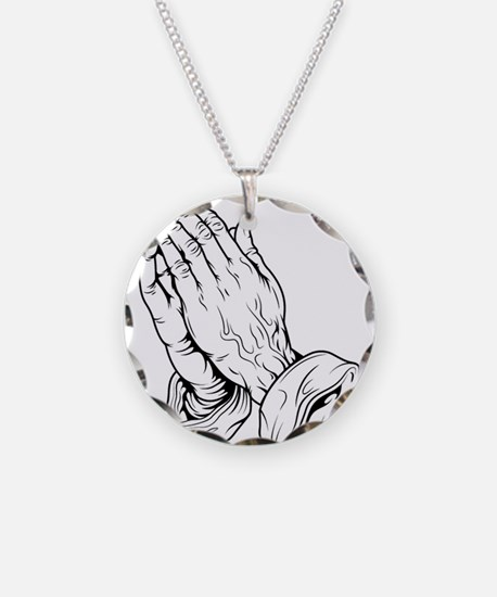 Praying Hands Necklace