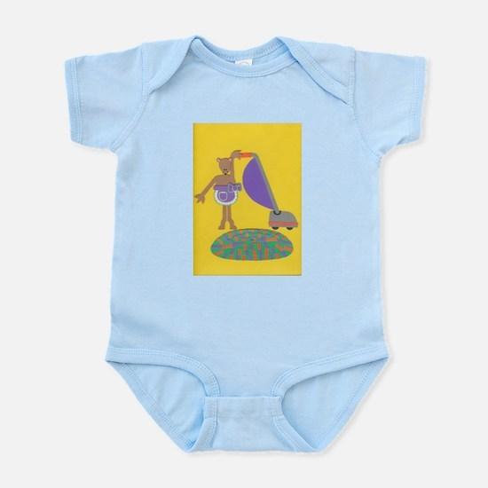 Violet Vole Infant Bodysuit