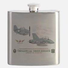 Flask VMFA(AW)-121 Heritage