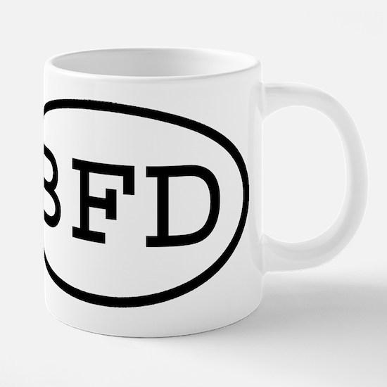 BFD Oval Mugs