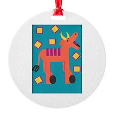 Yolanda Yak Ornament