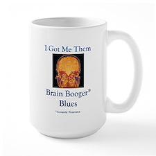 Brain Booger Blues Mug