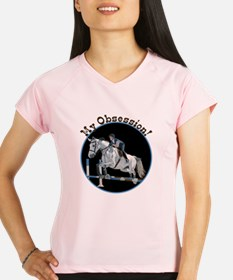 Cute My Obsession Horse Jumper Performance Dry T-S