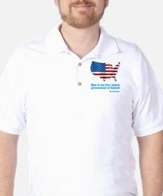 Ronald Reagan Quote Golf Shirt