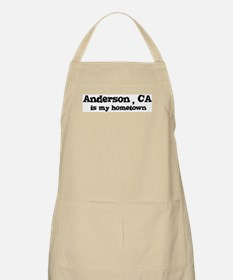 Anderson - hometown BBQ Apron