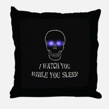 Watch You Sleep Throw Pillow