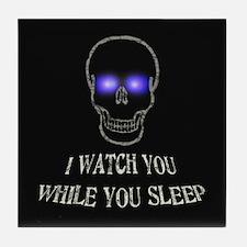 Watch You Sleep Tile Coaster