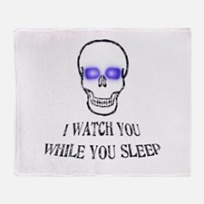 Watch You Sleep Throw Blanket