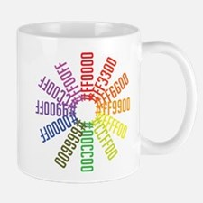 Hex color wheel Mug