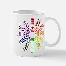 Hex color wheel Small Small Mug
