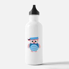 Sailor Owl Water Bottle