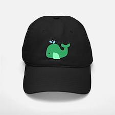 Green Whale Baseball Hat