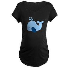 Light Blue Whale T-Shirt