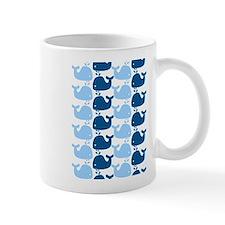 Whale Silhouette Print Mug