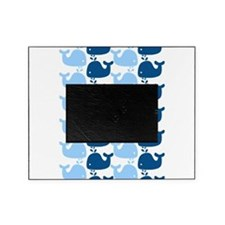 Whale Silhouette Print Picture Frame