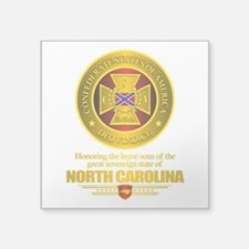 "North Carolina SCH Square Sticker 3"" x 3"""