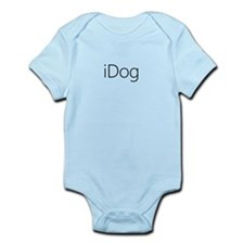 iDog black Infant Bodysuit