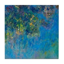 Monet - Wisteria Tile Coaster