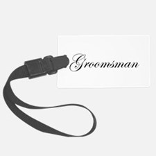 Groomsman.png Luggage Tag