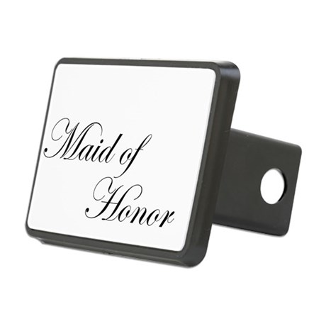 Maid of Honor.png Rectangular Hitch Cover