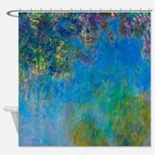 Monet - Wisteria Shower Curtain