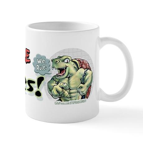 Terrable Turtles Rule Mug
