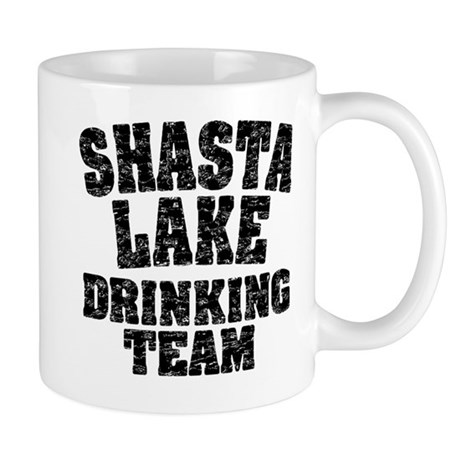 Shasta Lake Drinking Team Mug