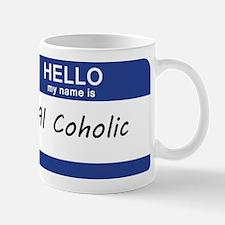 Hello my name is Al Coholic Mug