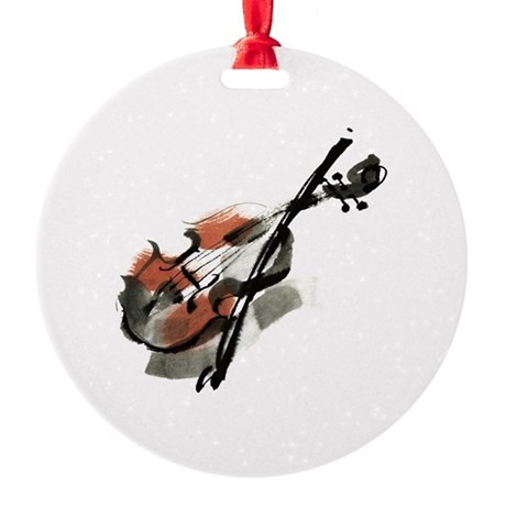 Violin Ornament By Garian Cafepress
