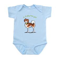 Alaskan Malamute Playtime Yet Infant Bodysuit