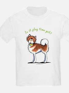 Alaskan Malamute Playtime Yet T-Shirt