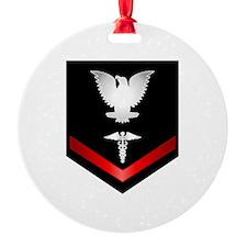 Navy PO3 Corpsman Ornament