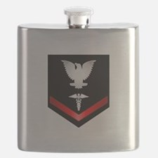 Navy PO3 Corpsman Flask