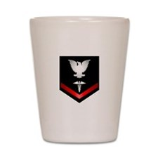 Navy PO3 Corpsman Shot Glass