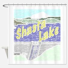 Three Shastas Shower Curtain