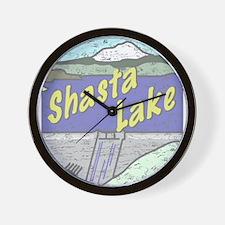 Three Shastas Wall Clock