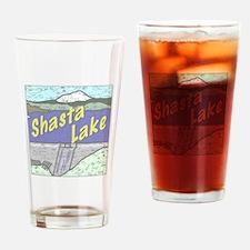 Three Shastas Drinking Glass