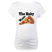 Pizza Craving Pregnancy Quote Shirt